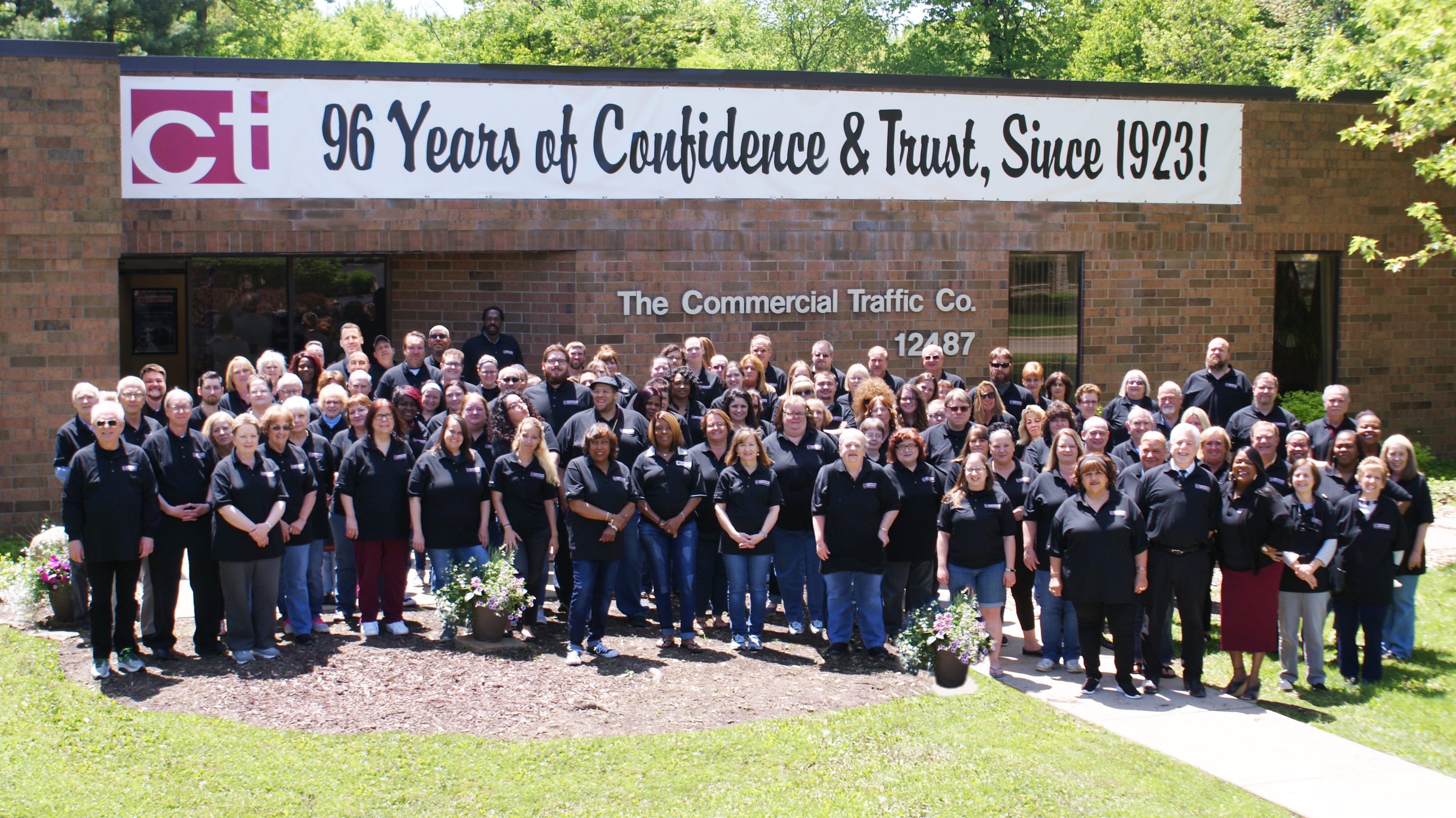 96th Anniversary Company Picture CT Logistics