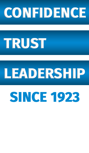 Confidence, Trust, Leadership