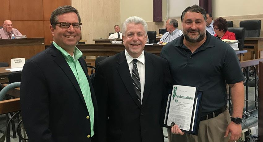 CT Logistics honored by City of Parma
