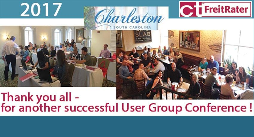 CT Logistics FreitRater User Group Conf 2017