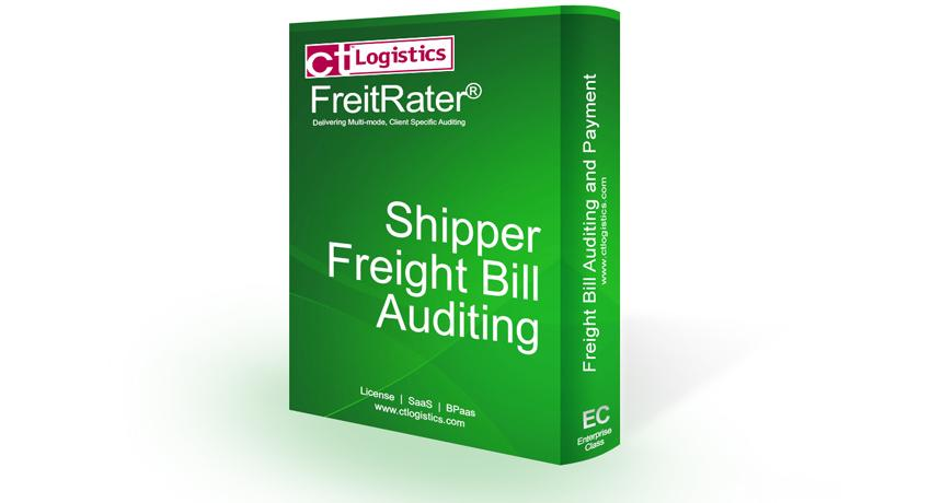 Shipper Freight Bill Auditing software