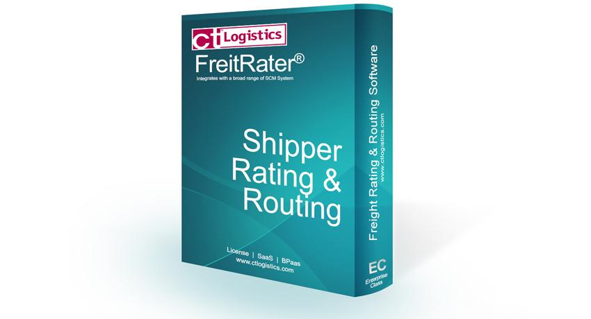 Shipper Rating and Routing Software